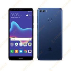 On behalf of glass Huawei Y9 (2018)