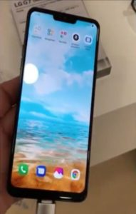 Replacement screen LG G7, G7 Plus