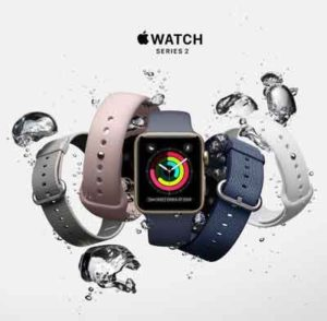 Gold-plated Apple Watch Seri 2