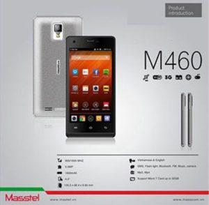 Replacement screen Masstel M460