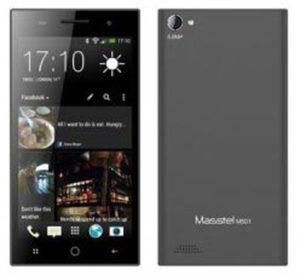 Replacement glass touch Masstel M501