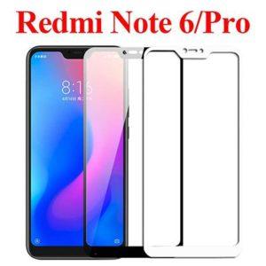 On behalf of glass Xiaomi Redmi Note 6 Pro