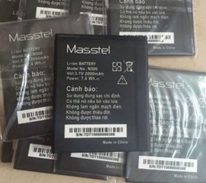 Replace the battery Masstel M460