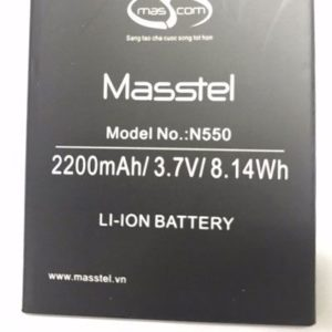 Replace the battery Masstel M505