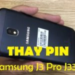 Change the battery Samsung J3, J3 Pro J330