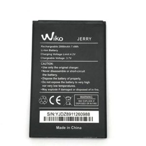 Replace the battery Wiko Sunset 2