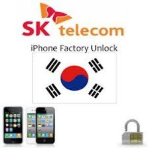 Unlock Iphone 5 Sk telecom korea