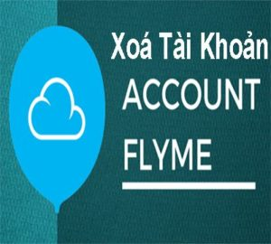 Delete the account Flyme