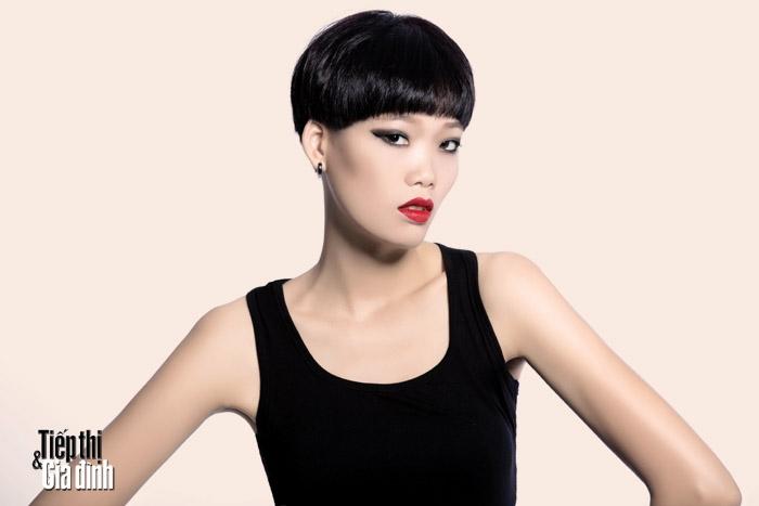 5. Nguyễn Hợp - Vietnam next top model 2015