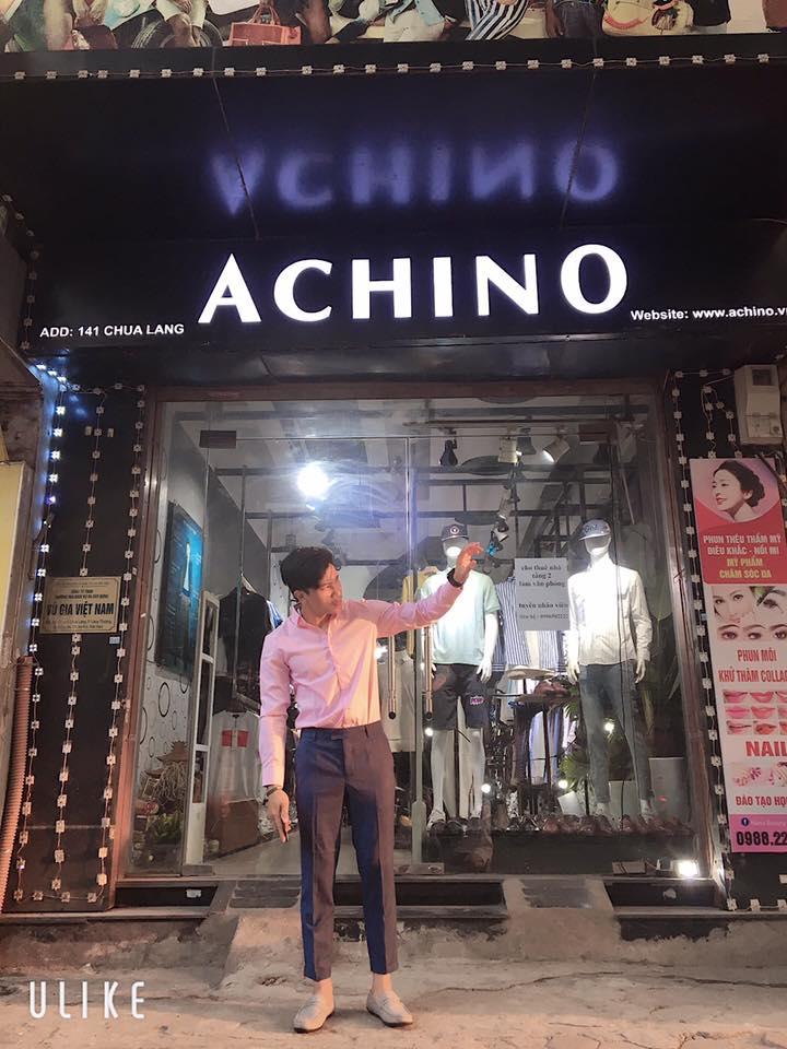 Tại Achino, các kiểu dáng mẫu mã luôn đa dạng và đảm bảo cập nhật theo kịp các xu hướng thời trang quốc tế và trong nước
