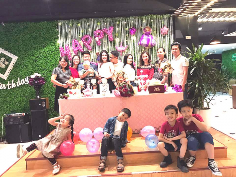 Bữa tiệc sinh nhật đáng nhớ