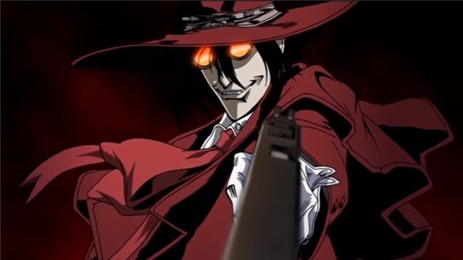 Alucard của Anime Hellsing