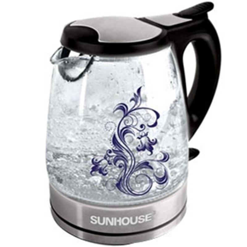 Ấm siêu tốc Sunhouse SHD 1217 ( Đen ) có dung tích 1.7 lít, cung cấp đủ nước sôi để cả nhà nấu mì, pha trà, cà phê,… mọi lúc mọi nơi