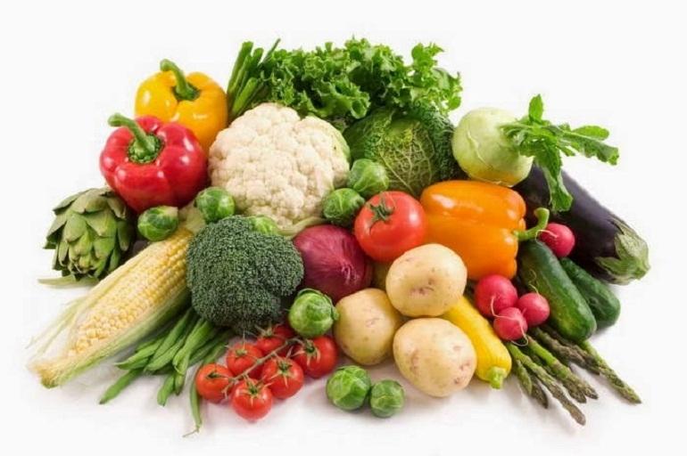 Hoa quả và rau tươi là nguồn cung cấp vitamin tự nhiên cần thiết cho quá trình hồi phục sau khi phá thai