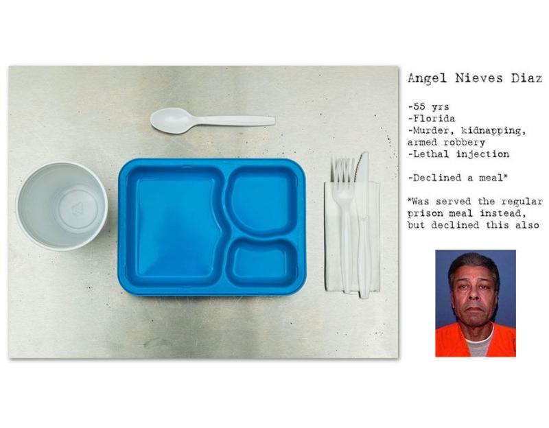 Bữa ăn không có gì của Ángel Nieves Díaz