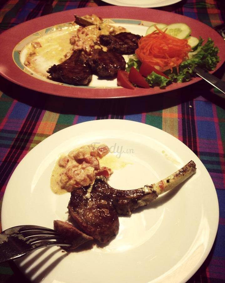 Beefsteak tại Il Grillo