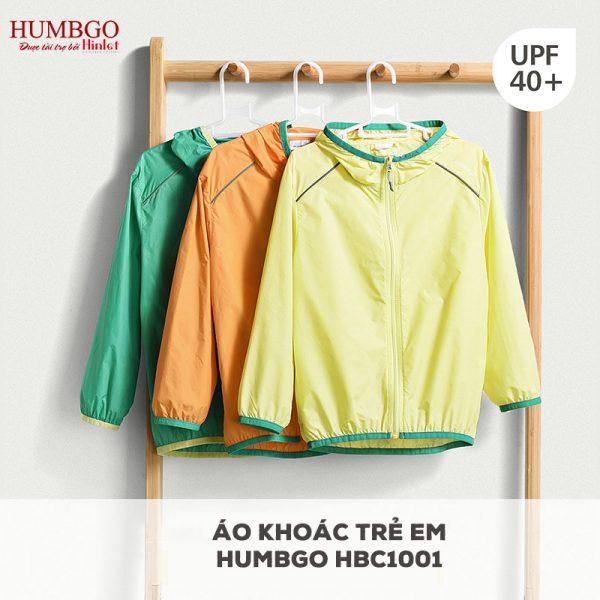 Áo chống nắng vải dù Humbgo trẻ em HB140068 giá 450.000đ
