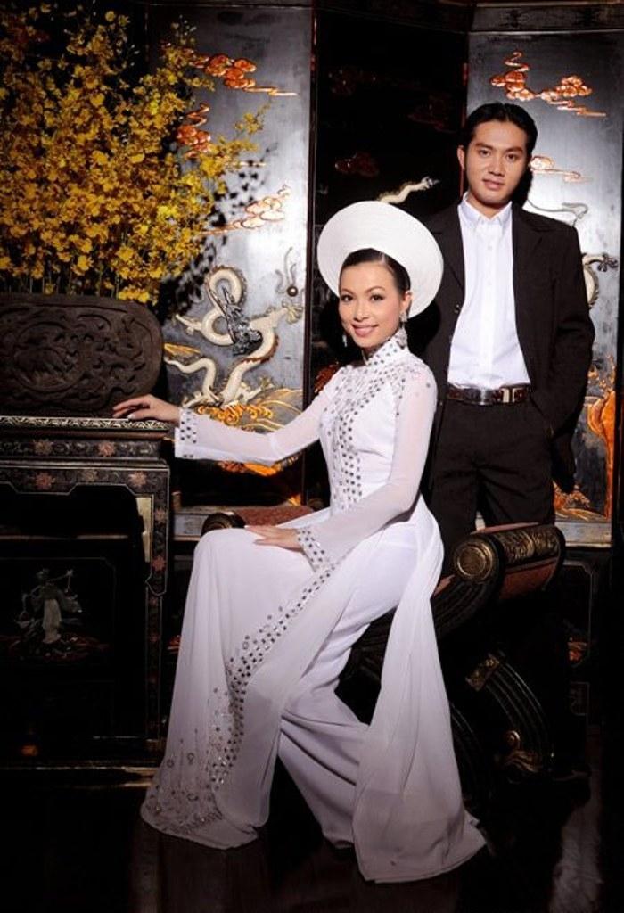 Áo dài cưới Phan Hải