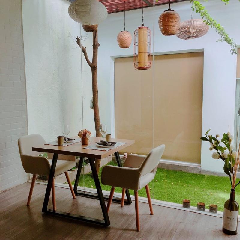 Nhà hàng Atelier Des Rêves với thiết kế cầu kì, bắt mắt