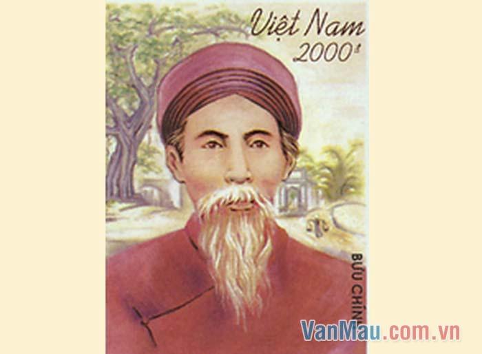 Nguyễn Khuyến nổi tiếng là một nhà thơ châm biếm