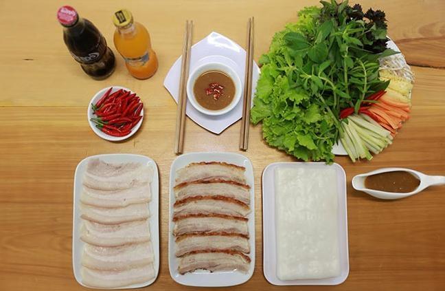 Bảo Hoàng - Bánh Tráng Cuốn Thịt Heo