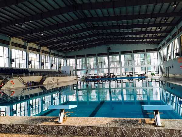 Bể bơi Bộ Công an – Giá vé: 50.000 – 70.000 VND/buổi