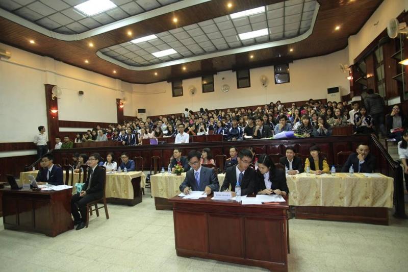 Diễn án tại Khoa Luật