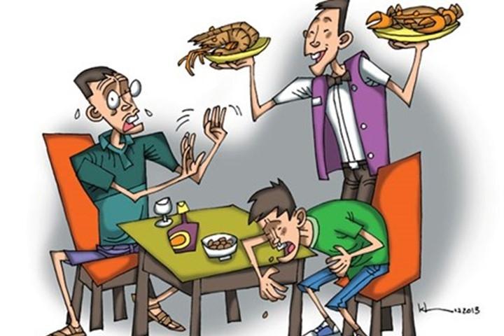 Ăn uống không đúng cách dễ gây bệnh đường ruột