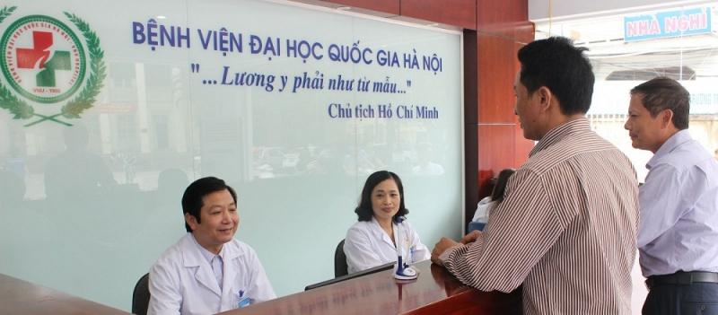 Bệnh viện Đại học Quốc  gia Hà Nội luôn đề cao