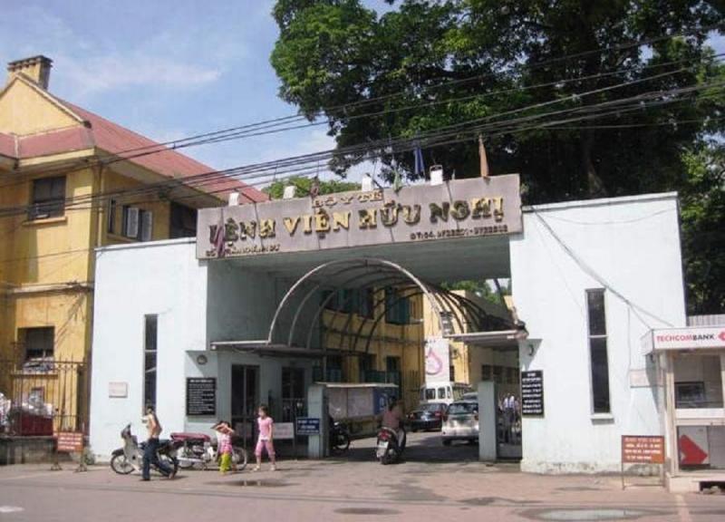Một góc bệnh viện Hữu Nghị.