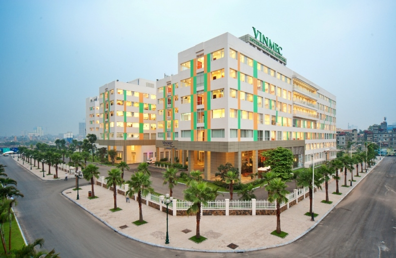 Bệnh viện Đa Khoa Quốc Tế Vinmec được trang bị cơ sở hạ tầng cực kỳ hiện đại