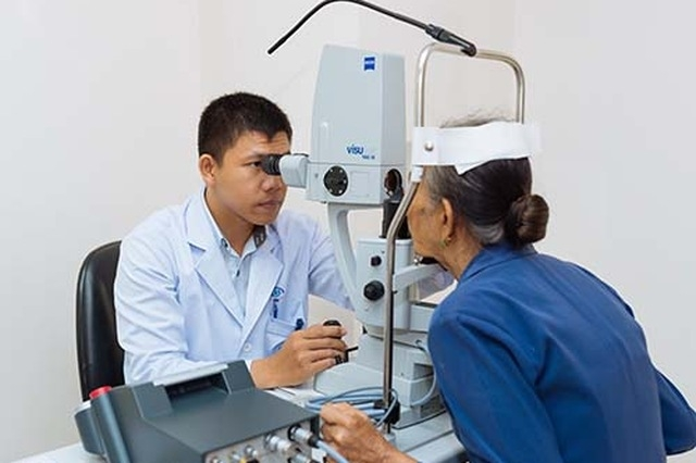 Bệnh viện mắt kỹ thuật cao Hà Nội