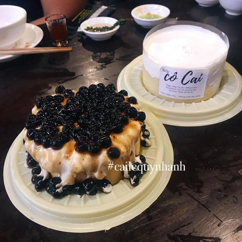 Vị ngon hấp dẫn khó cưỡng của bánh trà sữa Bếp Cô Cai