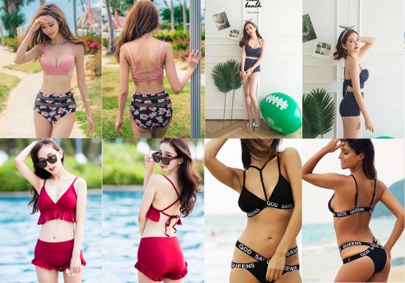 Bikini 2 mảnh bán chạy tại shop