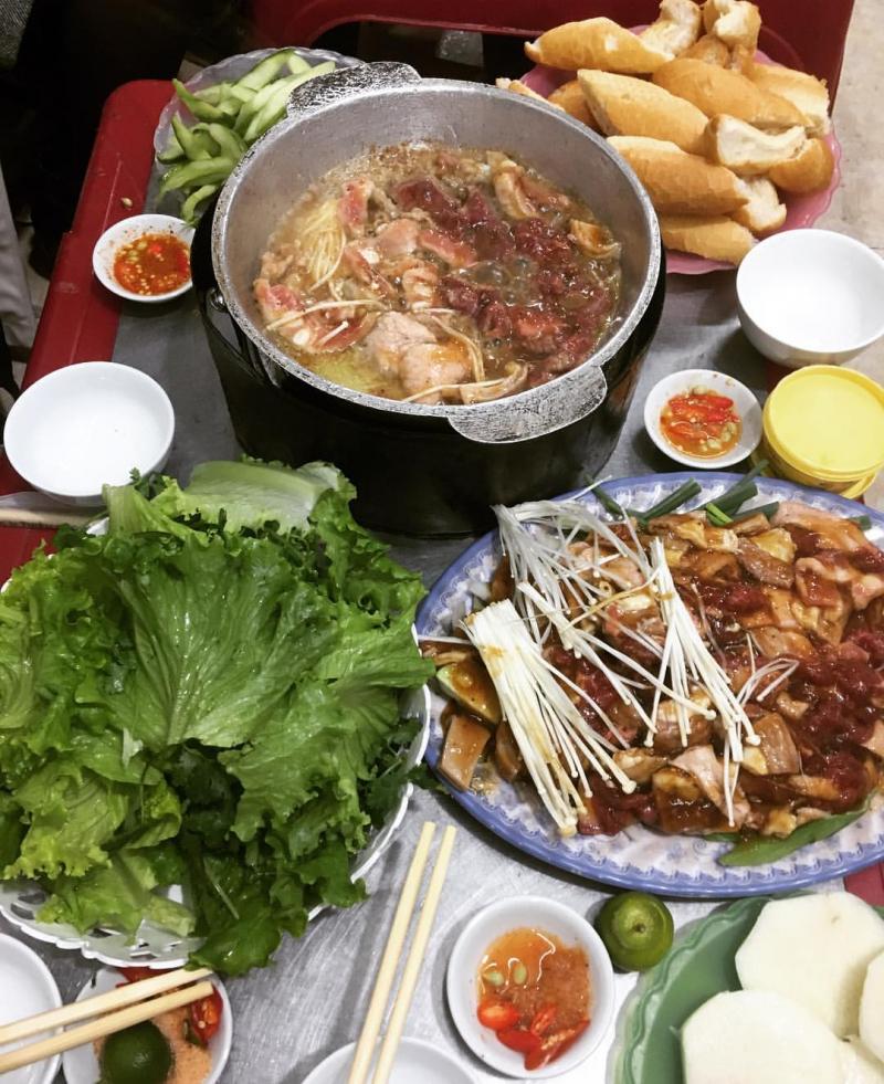 Bò nầm nướng Hương Hương