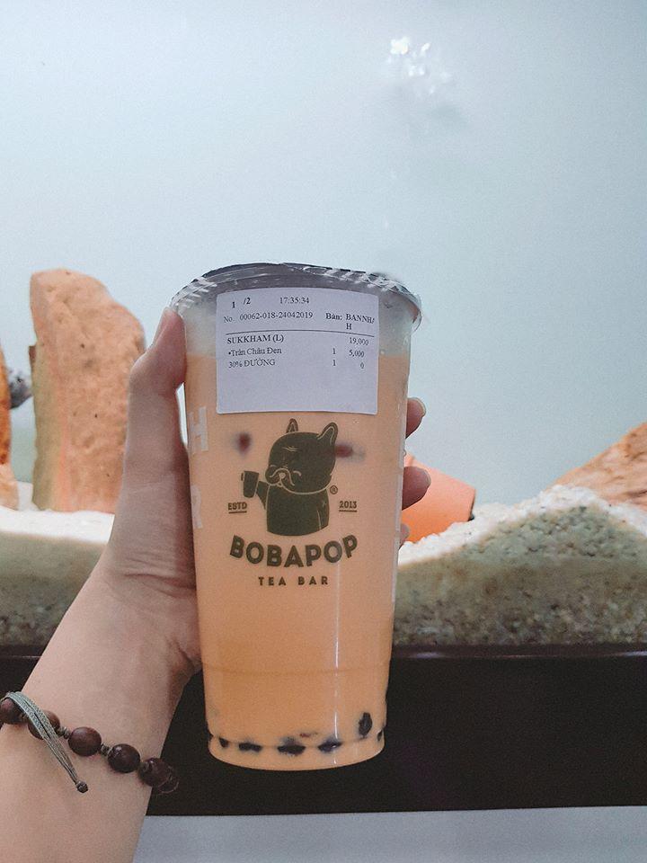 Dù là thương hiệu trà sữa đến từ Đài Loan nhưng Bobapop vẫn đủ sức hấp dẫn, phù hợp với khẩu vị thực khách Việt