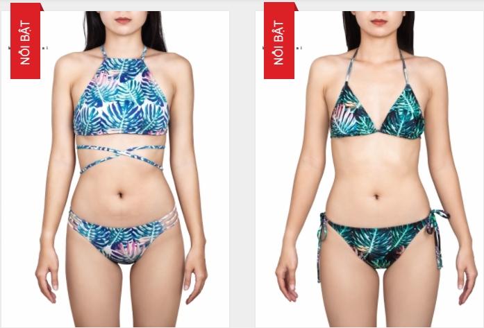 2 mẫu bikini đang được ưa chuộng nhất tại shop