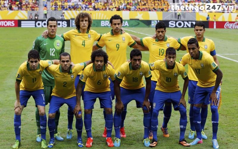 Đội tuyển Brazil có giá trị 468 triệu euro