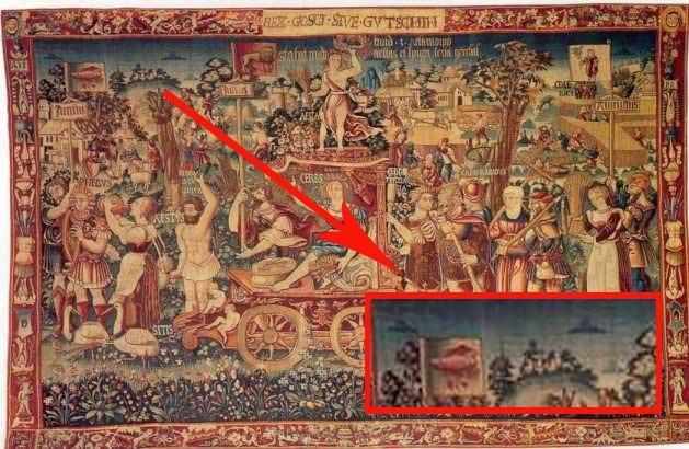 Tấm thảm Triumph's Summer vào năm 1538