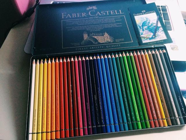 Bộ bút chì màu Faber - Castell 36 màu