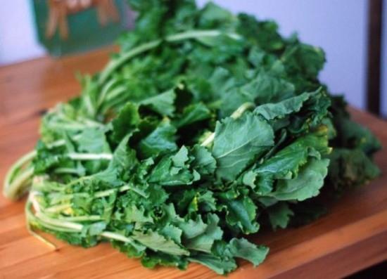 Các loại rau màu xanh đậm
