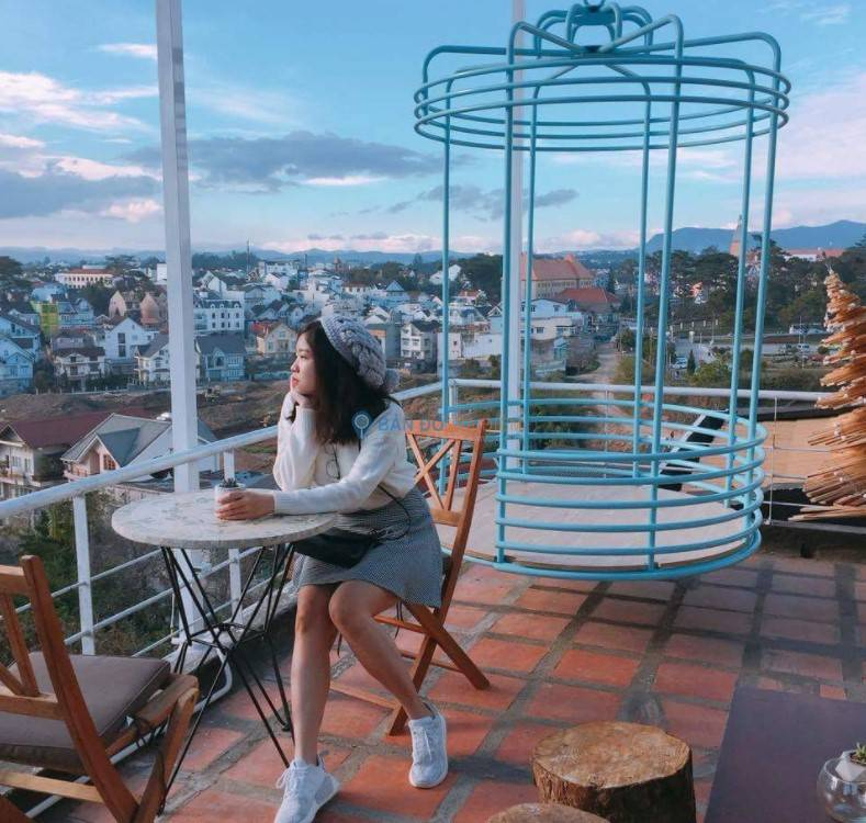 The Dreamer mang đến cho du khách không gian thưởng thức cà phê đẹp như mơ
