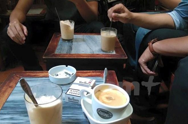 Cà phê Giảng- đắng thơm cà phê trứng
