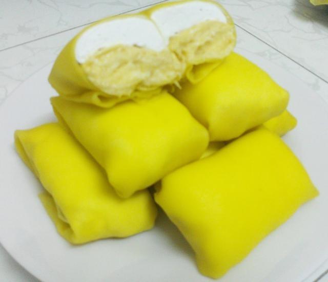 Crepe sầu riêng - món nổi danh ở San