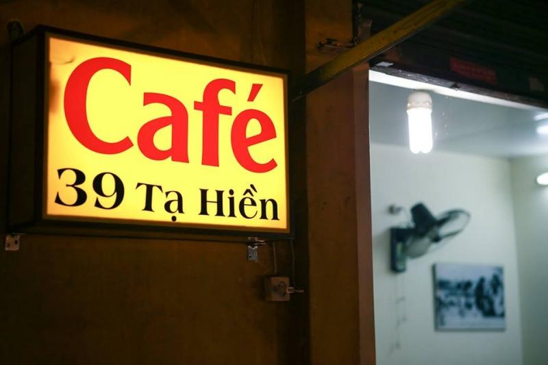 Café 39 Tạ Hiện