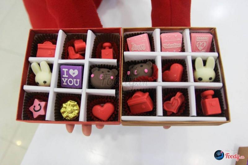 Top 5 cửa hàng bán socola Valentine 14/2 ngon nhất ở Đà Nẵng
