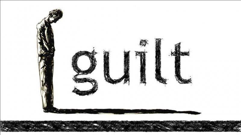 Cảm giác tội lỗi hay sợ hãi với ai đó chính là dấu hiệu của chữ