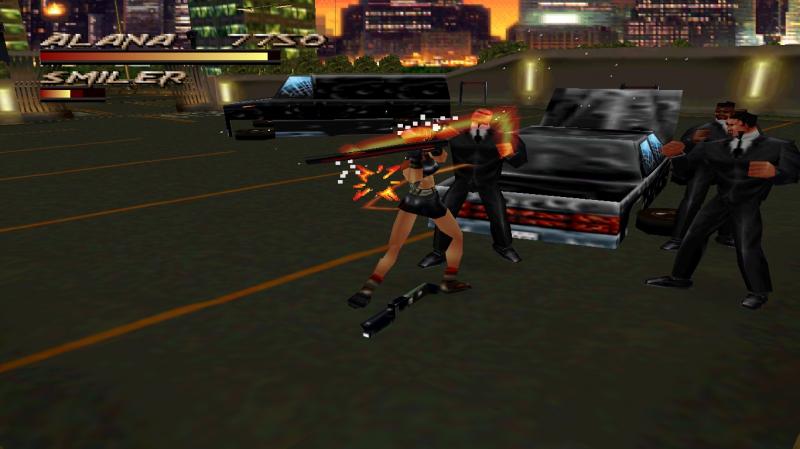 Tựa game Fighting Force trên máy PS1