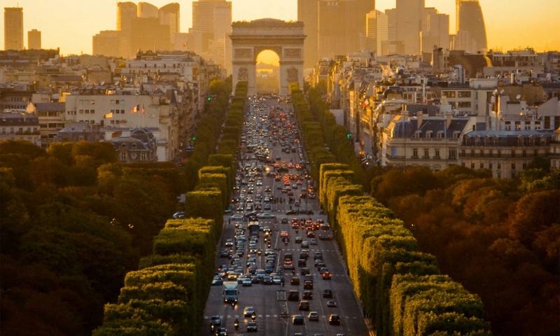 Champs Elysées - Paris - Pháp