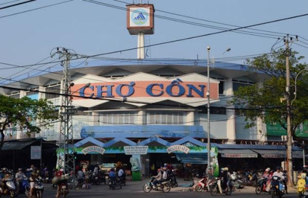 Chợ Cồn Đà Nẵng.